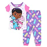 Disney Baby-girls Doc McStuffins Stuffy and Lambie Pajama Set