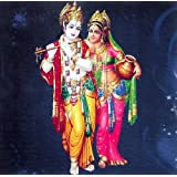 "Dolls Of India ""Radha Krishna"" Reprint On Card Paper - Unframed (15.88 X 15.88 Centimeters)"