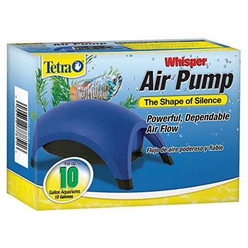 Tetra 77851 Whisper Air Pump, 10-Gallon (Air Pumps For Fish Tanks compare prices)