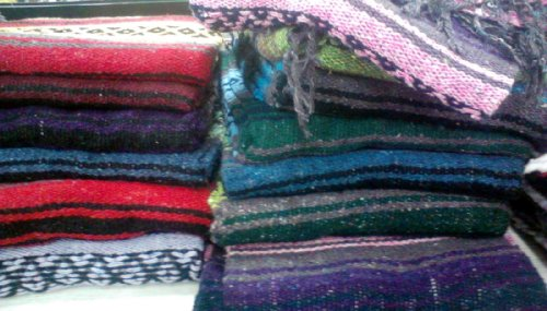 Mexican Cotton Blanket front-1081002