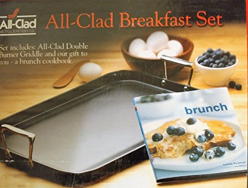 All-Clad Hard-Anodized Nonstick Grande Griddle Breakfast Set 13