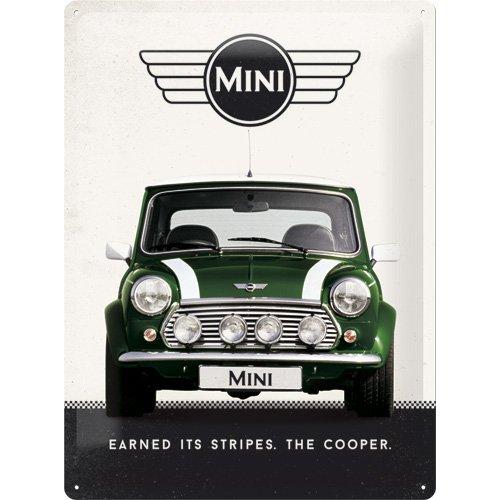 nostalgic-art-23214-mini-cooper-green-affiche-sur-tole-en-fer-blanc-30-x-40-cm