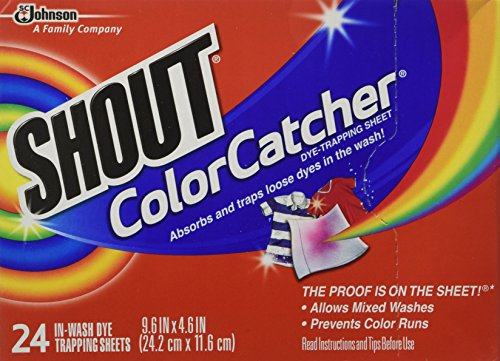 Shout Color Catcher Dye-Trapping, In-Wash Cloths - 24 ea (Shout Color Catcher Sheets compare prices)