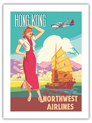 hongkong-nord-west-airlines-boeing-377-langstrecken-verkehrsflugzeug-chinesische-dschunke-vintage-re