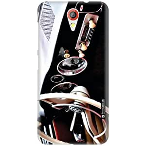 Printland Designer Back Cover for HTC Desire 620G - Funky Case Cover