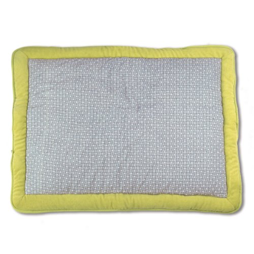Baby Boum 75 x 95cm Super Soft Oblong Padded Play Mat/Playpen Mat (Abstract Neutral Grey, Dolby Collection)