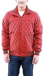 Time Option Men's Cotton Jacket (5016-Brick_42)