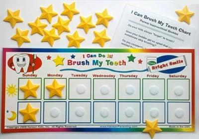 I Can Do It Reward Chart: Brush My Teeth