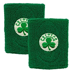 Boston Celtics Team Logo Wristband by For Bare Feet