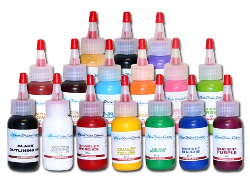 StarBrite Tattoo Ink Set We have StarBrite Tattoo Ink Set with