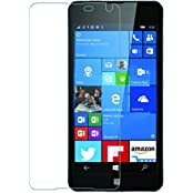 MoArmouz Go - Tempered Glass For Lumia 650 Clear Glass By MoArmouz- Premium Tempered Glass With Smooth Touch 2.5D...