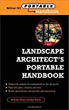 img - for Landscape Architect's Portable Handbook 1st edition by Dines, Nicholas, Brown, Kyle (2001) Paperback book / textbook / text book