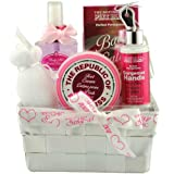 BTW The Republic Of Pink Bliss Bath Gift Set, Perfect Pomegranate - 5 Piece