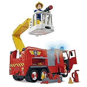 Simba Fireman Sam - Fire Engine Jupiter [Amazon Exclusive]