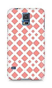 Amez designer printed 3d premium high quality back case cover for Samsung Galaxy S5 (Pattern 1)
