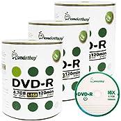 Smart Buy 300 Pack DVD-R 4.7gb 16x Logo Blank Data Video Movie Recordable Disc 300 Disc 300pk