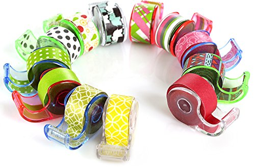 polar-bear-washi-masking-tape-with-cute-dispenser-047x55-yards-each-pack-of-12pcstotal-66-yards-asso