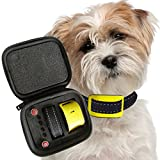Our K9 Yellow Bark Collar. Small Active Dogs. Sound and Vibration Pain free Anti Bark Collar. There are 9 Different No Bark Collars in The Our K9 Range from Toy to Large - Choose the Correct Collar.