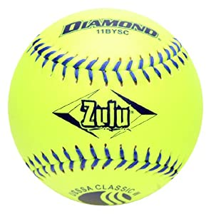 Buy Diamond Sports 11BYSC Classic USSSA Optic Slowpitch Softball, Dozen (11-Inch) by Diamond Sports