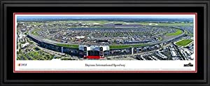 NASCAR Tracks - Daytona Intl Speedway Aerial - Day - Framed Poster Print by Laminated Visuals