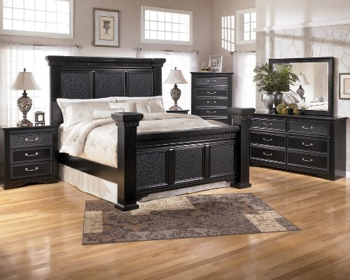 ASHLEY BLACK BEDROOM FURNITURE BEDROOM FURNITURE
