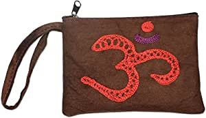 Amazon.com : Nepali OM Leather Coin Purse : Sports & Outdoors