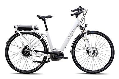 Steppenwolf Women's Haller Wave E2 CDX Electric Bicycle, White, 52cm/Medium