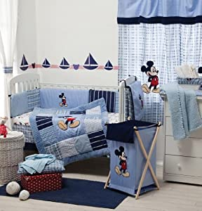 Disney Mickey Mouse And Friends Crib Bedding Collection