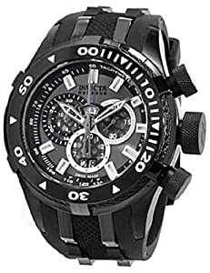 Invicta Reserve Bolt II Charcoal Dial Chronograph Mens Watch 0979