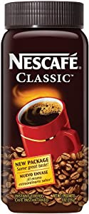 Nescafe Classic Instant Coffee, 8 Ounce Jar