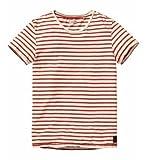 (スコッチ アンド ソーダ)SCOTCH&SODA Tシャツ Irregular striped crew neck tee 並行輸入品