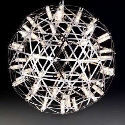 [7.8inch Nanhapat Moooi Raimond Firework 2700-3000K 18LED Crystal Pendant Lights Stainless Steel Ball Lightings Modern Creative Pendant Lamps Indoor Outdoor String Light Warm White Light] (Costume Wonder Woman Ebay)
