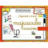 J'apprends a tracer les lettres majuscules cursives - Boscher (French Edition)