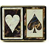 Congress Black Marble Standard Index Playing Cards