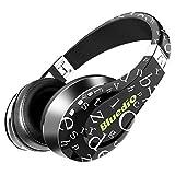 Bluedio A (Air) Casque Bluetooth sans fil à la mode avec microphone HD Diaphragme Arceau torsadé 3D effet sonore (Noir)...