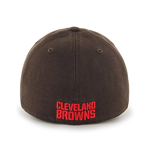 NFL Cleveland Browns '47 Brand Franchise Fitted Hat, Brown, Large at Steeler Mania