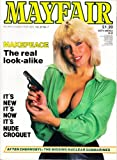 Mayfair Magazine Volume 21 Number 7 with Makepeace The real look-alike