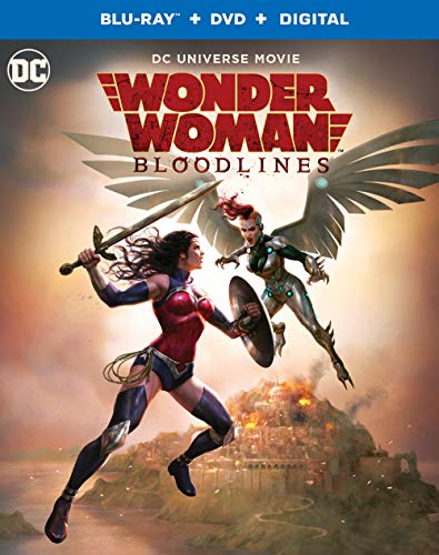 Blu-ray : Wonder Woman: Bloodlines (2 Discos)