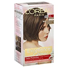 Excellence Excellence Creme Permanent Haircolor, Cooler, Light Beige Brown 6BB, 1 application