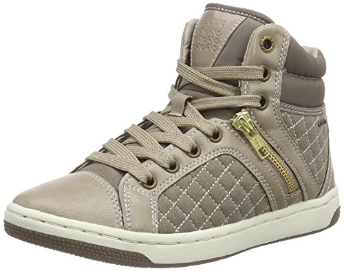 Geox Jr Creamy G, Sneaker, Ragazza, Beige (Beige (C6029TAUPE)), 31