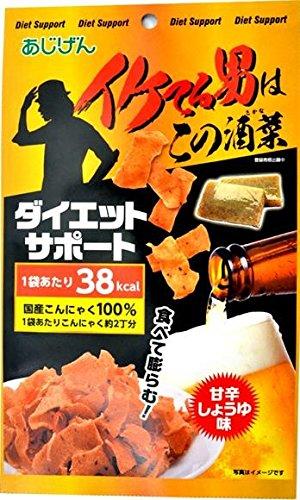 お菓子 美味しい 人気 ヘルシーおつまみ イケてる男(蒟蒻) 40g×30袋セット