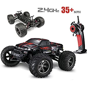 hosim 35 mph 1 12 scale electric rc car 2 4ghz 2wd high speed remote controlled car. Black Bedroom Furniture Sets. Home Design Ideas