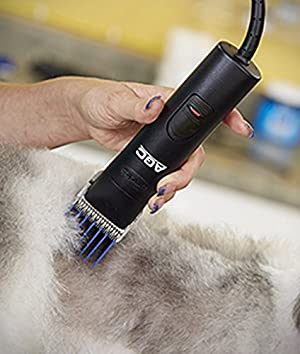 Andis ProClip AG2 single-Speed Detachable Blade Clipper, Professional Animal Grooming, AGC (23835) (Color: Black)