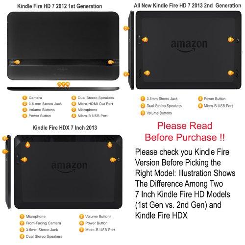 I-Blason All New Kindle Fire HD 7 Inch Tablet Premium HD