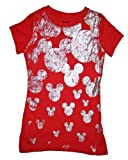 Mickey Mouse Girls Sz 4-16 Raining Mickeys T Shirt