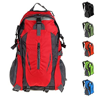 PioneerHiker 35L Camping Cycling Travel Daypack Hiking Backpack Water-resistant