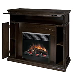 Dimplex Dfp6817e Media Console Electric Fireplace Espresso Space Heaters