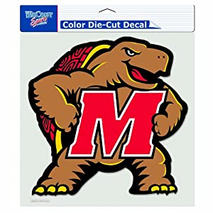 Buy NCAA Maryland Terrapins 8-by-8 Inch Diecut Colored Decal by WinCraft
