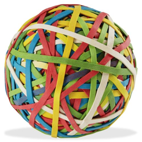 acco-rubber-band-ball-275-bands-per-ball-assorted-colors-1-box-72155