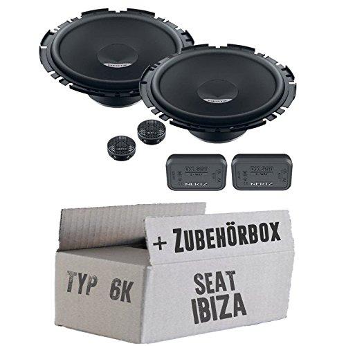 Seat ibiza 6 k fL front hertz dieci dSK 170.3 2 voies kit 16 cm